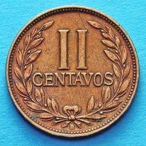 Колумбия 2 сентаво 1955 год.