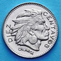 Колумбия 10 сентаво 1966 год. Большая дата.