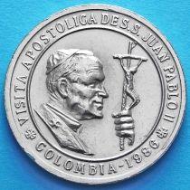 Колумбия монетовидный жетон 1986 год.