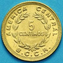 Коста Рика 5 сентимо 1979 год UNC