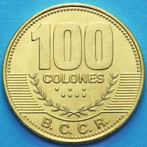 Коста Рика 100 колонов 2006-2014 год.