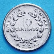 Коста Рика 10 сентимо 1953-1967 год