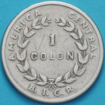 Коста Рика 1 колон 1935 год.