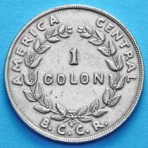 Коста Рика 1 колон 1961 год