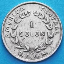 Коста Рика 1 колон 1968 год