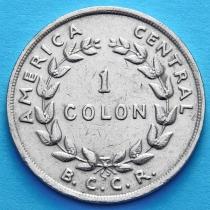 Коста Рика 1 колон 1970 год