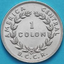Коста Рика 1 колон 1978 год.