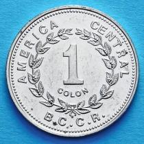 Коста Рика 1 колон 1982-1994 год. II тип.