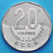 Коста Рика 20 колонов 1994 год.