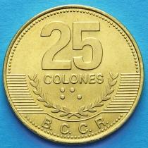 Коста Рика 25 колонов 2007 год.