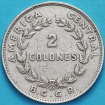 Коста Рика 2 колона 1968 год.
