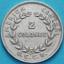 Коста Рика 2 колона 1972 год.