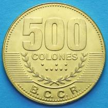 Коста Рика 500 колонов 2006-2007 год.