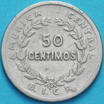 Коста Рика 50 сентимо 1935 год.