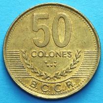 Коста Рика 50 колонов 1997-2002 год.