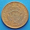 Монета Коста Рики 5 колонов 1995-2001 год.