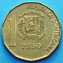Доминиканская Республика 1 песо 1992-2002 год.