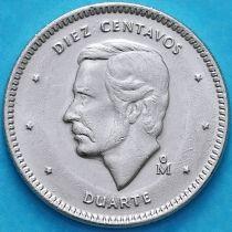 Доминиканская Республика 10 сентаво 1984 год. UNC.