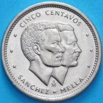 Доминиканская Республика 5 сентаво 1984 год. UNC