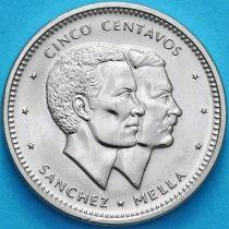 Доминиканская Республика 5 сентаво 1986 год. UNC