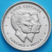 Доминиканская Республика 5 сентаво 1987 год. UNC