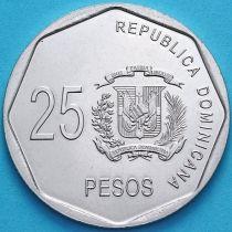 Доминиканская Республика 25 песо 2015 год.