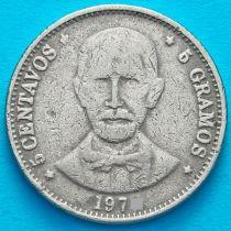 Доминиканская Республика 5 сентаво 1979 год.