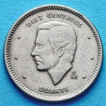 Доминиканская Республика 10 сентаво 1984 год. Монетный двор Мехико.
