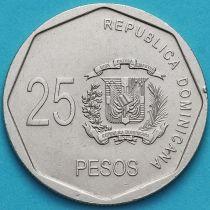 Доминиканская Республика 25 сентаво 2005 год.