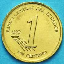 Эквадор 1 сентаво 2000 год.
