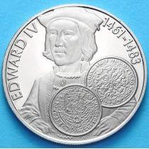 Фолклендские острова 50 пенсов 2001 г. Эдуард IV