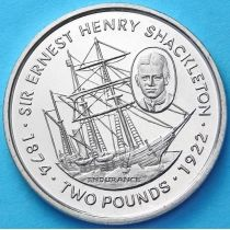 Фолклендские острова 2 фунта 1999 год. Эрнест Шеклтон.