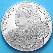 Фолклендские острова 50 пенсов 2001 г. Королева Виктория
