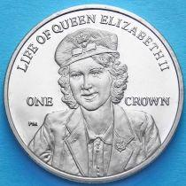 Фолклендские острова 1 крона 2012 год. Жизнь Королевы Елизаветы II