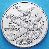 Фолклендские острова 1 крона 2008 год. Истребители.