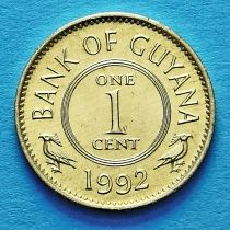 Гайана 1 цент 1992 год.