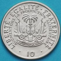 Гаити 10 сантим 1975 год. ФАО.