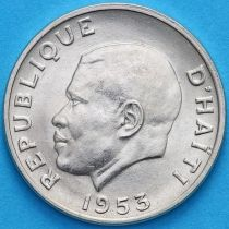 Гаити 5 сантим 1953 год.