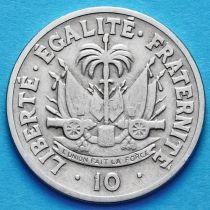 Гаити 10 сантим 1949 год.