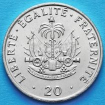 Гаити 20 сантим 1991 год.