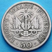 Гаити 50 сантим 1908 год