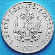 Гаити 50 сантим 1991 год.