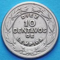 Гондурас 10 сентаво 1954-1956 год.
