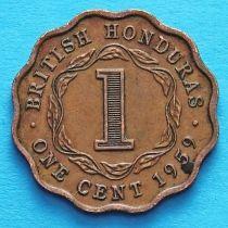 Британский Гондурас 1 цент 1959 год