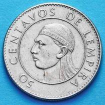 Гондурас 50 сентаво 1978 год.