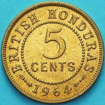Гондурас 5 центов 1964 год.