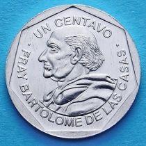 Гватемала 1 сентаво 1999-2007 год. Бартоломе де лас Касас.