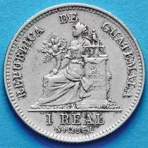 Гватемала 1 реал 1900 год.