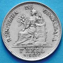 Гватемала 1 реал 1901 год.