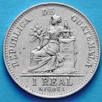 Гватемала 1 реал 1910 год.